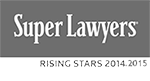 Super Lawyers | Rising Star 2014,2015